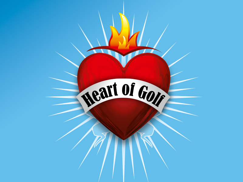Heart of Golf Logo