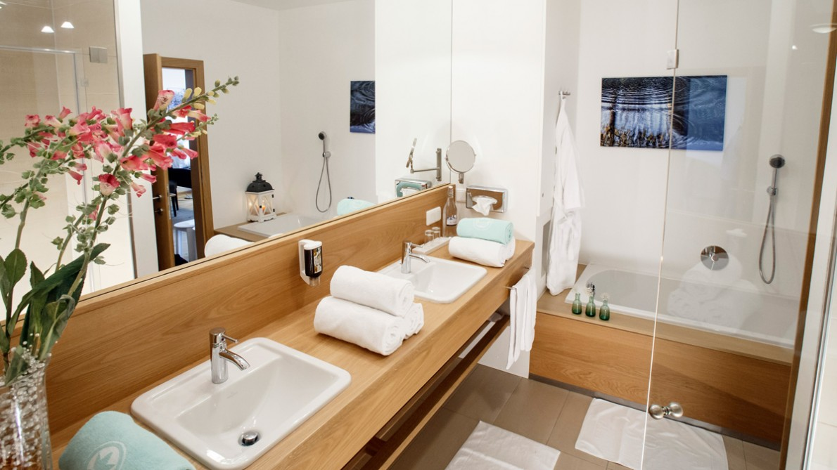 Fairway Suite Badezimmer